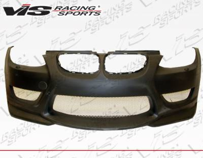 VIS Racing - BMW 3 Series 2DR VIS Racing AMS Style Front Bumper - 07BME922DAMS-001