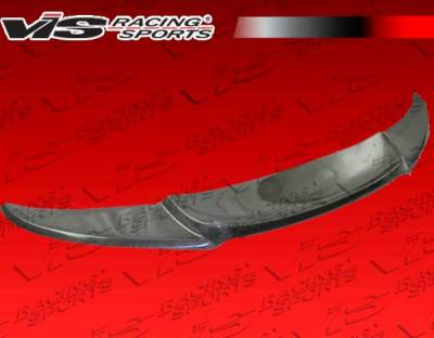 VIS Racing - BMW 3 Series 2DR VIS Racing M-Tech Carbon Fiber Front Lip - 07BME922DMTH-011C