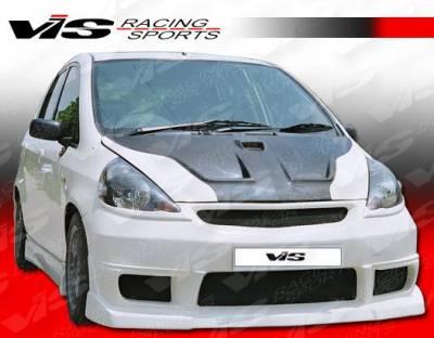 VIS Racing - Honda Fit VIS Racing N1 Front Bumper - 07HDFIT4DN1-001