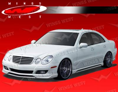 VIS Racing - Mercedes-Benz E Class VIS Racing JPC Front Lip - Polyurethane - 07MEW2114DJPC-011P