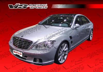VIS Racing - Mercedes-Benz S Class VIS Racing Laser Front Bumper - 07MEW2214DLS-001