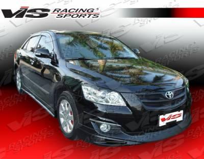 VIS Racing - Toyota Camry VIS Racing Fuzion Front Lip - 07TYCAM4DJFUZ-011
