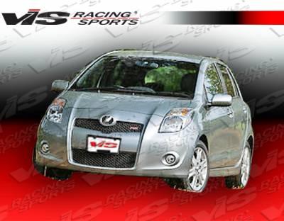 VIS Racing. - Toyota Yaris VIS Racing JDM Racing Series Front Bumper - 07TYYARHBJRS-001