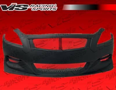 VIS Racing - Infiniti G37 VIS Racing Zelda Front Bumper - 08ING372DZEL-001