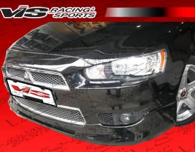 VIS Racing - Mitsubishi Lancer VIS Racing Rally Front Lip - 08MTLAN4DRAL-011