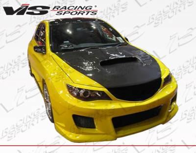 VIS Racing - Subaru WRX VIS Racing Z-Speed Type 2 Front Bumper - 08SBWRX4DZSP2-001