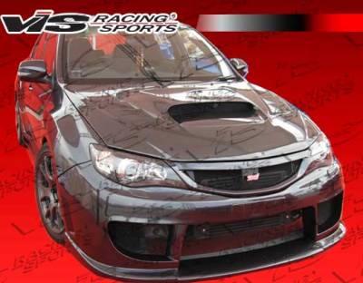 VIS Racing - Subaru WRX VIS Racing STI Front Bumper - 08SBWRXHBRAL-001