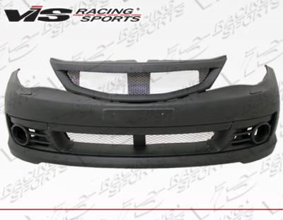 VIS Racing - Subaru WRX VIS Racing STI Style Front Bumper - 08SBWRXHBSTI-001