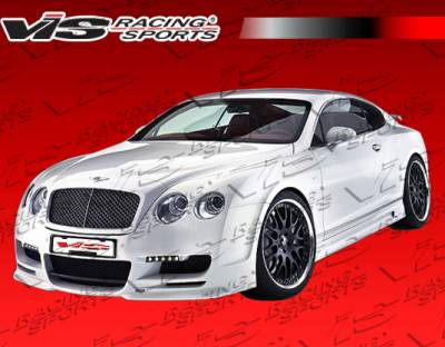 VIS Racing. - Bentley Continental GT VIS Racing Executive Front Bumper - 09BECON2DEXE-001