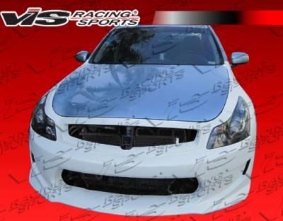 VIS Racing - Infiniti G37 VIS Racing AMS GT Front Bumper - 09ING374DAMSGT-001