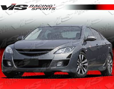 VIS Racing - Mazda 6 VIS Racing A Spec Front Bumper - 09MZ64DASC-001