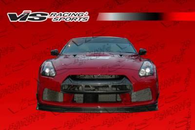 VIS Racing - Nissan Skyline VIS Racing GT Front Bumper Carbon Lip - 09NSR352DGT-001CC