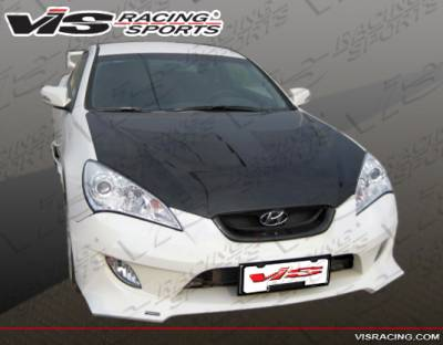 VIS Racing - Hyundai Genesis VIS Racing FX Front Bumper - 10HYGEN2DFX-001