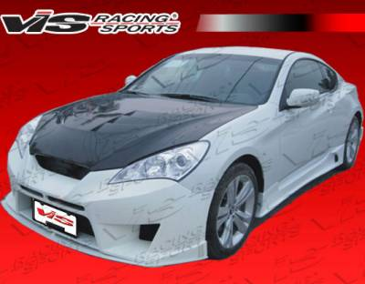 VIS Racing - Hyundai Genesis VIS Racing GNX Front Bumper - 10HYGEN2DGNX-001