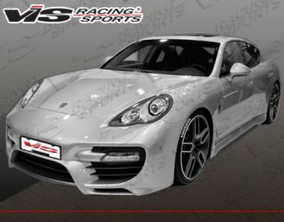 VIS Racing - Porsche Panamera VIS Racing Concept-D Front Bumper - 10PS9704DCCD-001