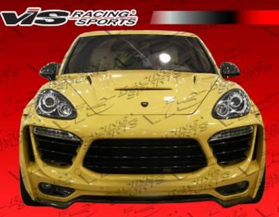 VIS Racing. - Porsche Cayenne VIS Racing Matrix Front Bumper - 11PSCAY4DMTR-001