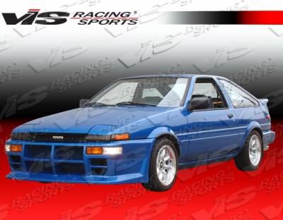 VIS Racing - Toyota Corolla VIS Racing GTX Front Bumper - 84TYCOR2DGTX-001