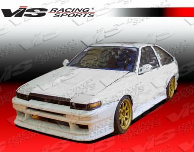 VIS Racing - Toyota Corolla VIS Racing N Speed Front Bumper - 84TYCOR2DNSP-001