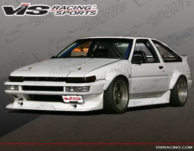 VIS Racing - Toyota Corolla VIS Racing V-Spec Front Bumper - 84TYCOR2DVSC-001