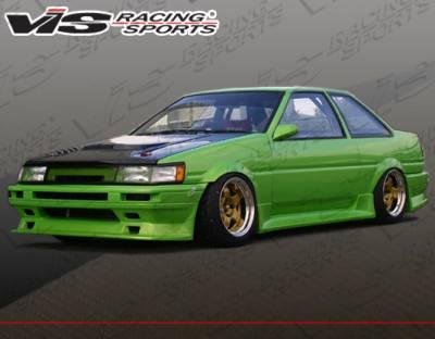 VIS Racing - Toyota Levin VIS Racing V-Spec Type-4 Front Bumper - 84TYLEV2DVSC4-001