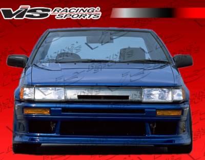 VIS Racing - Toyota Levin VIS Racing V Speed Front Bumper - 84TYLEV2DVSP-001
