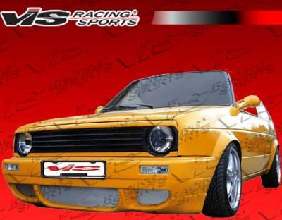 VIS Racing - Volkswagen Golf VIS Racing R Tech Front Bumper - 85VWGOF2DRTH-001