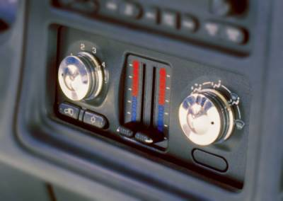All Sales - All Sales Interior Dash Knobs - O-Ring Style - 9400R