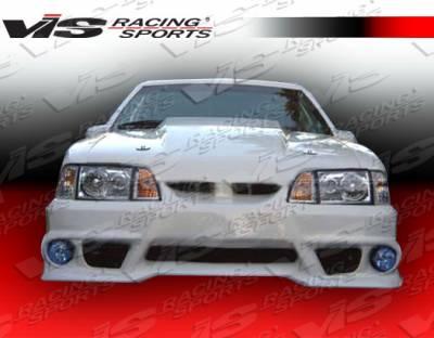 VIS Racing - Ford Mustang VIS Racing GTX Front Bumper - 87FDMUS2DGTX-001