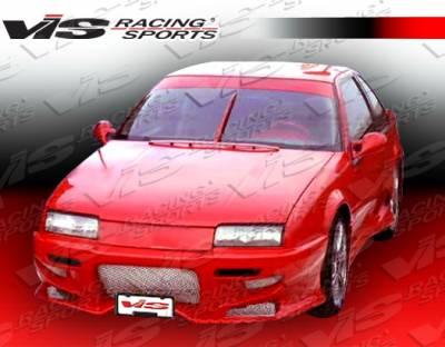 VIS Racing - Chevrolet Beretta VIS Racing Invader-2 Front Bumper - 88CHBER2DINV2-001