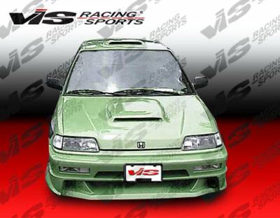 VIS Racing - Honda CRX VIS Racing Xtreme Front Bumper - 88HDCRXHBEX-001