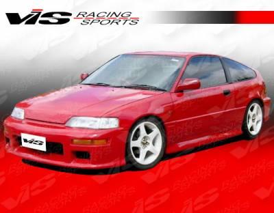 VIS Racing - Honda CRX VIS Racing SIR Front Bumper - 88HDCRXHBSIR-001