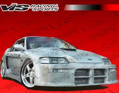 VIS Racing. - Honda CRX VIS Racing Widebody Front Bumper - 88HDCRXHBWB-001