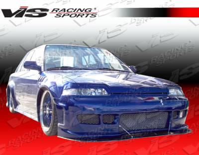 VIS Racing - Honda CRX VIS Racing Z1 boxer Front Bumper - 88HDCRXHBZ1-001