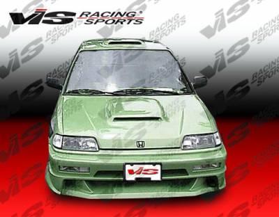 VIS Racing - Honda Civic HB VIS Racing Xtreme Front Bumper - 88HDCVCHBEX-001