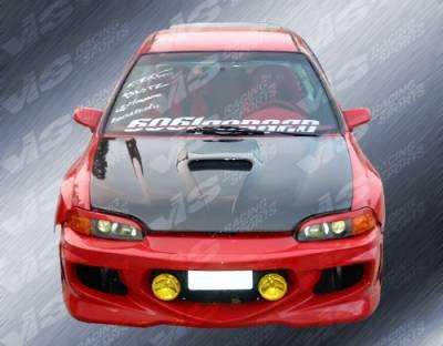 VIS Racing. - Honda Civic HB VIS Racing GT Bomber Front Bumper - 88HDCVCHBGB-001