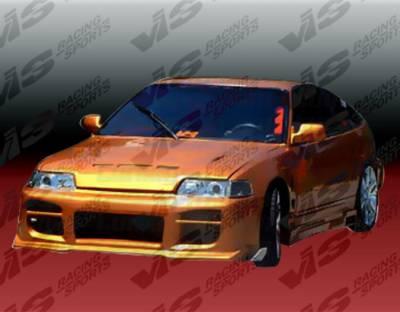 VIS Racing - Honda Civic HB VIS Racing Octane Front Bumper - 88HDCVCHBOCT-001