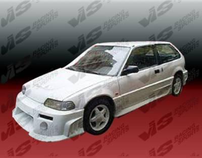 VIS Racing - Honda Civic HB VIS Racing Quest Front Bumper - 88HDCVCHBQST-001