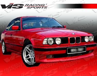 VIS Racing - BMW 5 Series VIS Racing A Tech Front Lip - 89BME344DATH-011