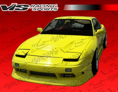 VIS Racing - Nissan 240SX VIS Racing B Speed Front Bumper - 89NS2402DBSP-001