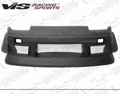 VIS Racing - Nissan 240SX VIS Racing B-Speed Type 4 Front Bumper - 89NS2402DBSP4-001
