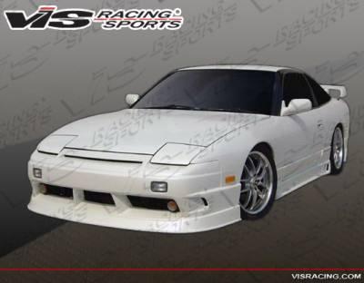 VIS Racing - Nissan 240SX VIS Racing Flex Front Bumper - 89NS2402DFLX-001