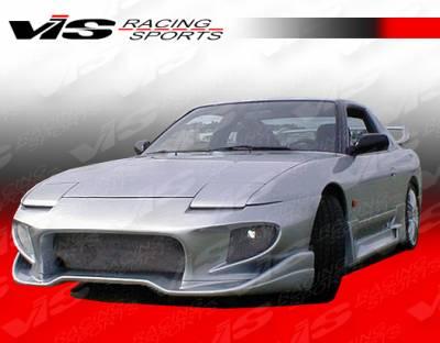 VIS Racing - Nissan 240SX VIS Racing Invader-2 Front Bumper - 89NS2402DINV2-001