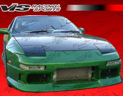VIS Racing - Nissan 240SX VIS Racing R Speed Front Bumper - 89NS2402DRSP-001