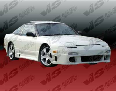 VIS Racing - Nissan 240SX VIS Racing Techno R Front Bumper - 89NS2402DTNR-001