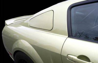 Agent 47 - Ford Mustang Agent 47 Rear Quarter Window Deletes - A47WDT