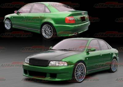 AIT Racing - Audi A4 AIT Racing AV Style Complete Body Kit - A496HIAVSCK