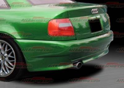 AIT Racing - Audi A4 AIT Racing AV Style Rear Bumper - A496HIAVSRB
