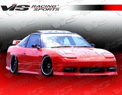 VIS Racing - Nissan 240SX VIS Racing V Speed Front Bumper - 89NS2402DVSP-001