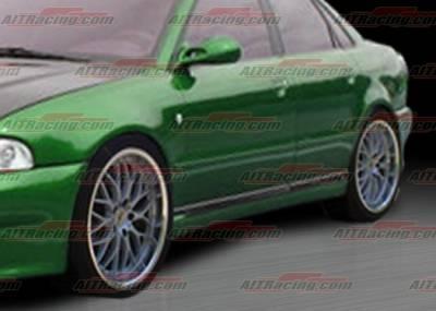 AIT Racing - Audi A4 AIT Racing AV Style Side Skirts - A496HIAVSSS