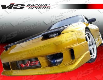 VIS Racing - Nissan 240SX VIS Racing Z Speed Front Bumper - 89NS2402DZSP-001